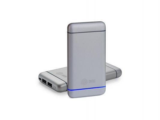 Портативное зарядное устройство Cactus CS-PBMS029-10000AL 10000мАч серебристый