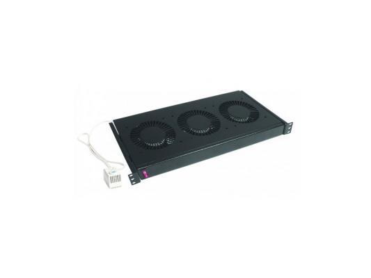 Вентиляторный блок Conteg DP-VEN-02-B 2 вентилятора универсальный cерый RAL7035