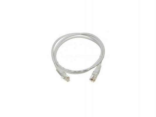 Патч-корд Lanmaster 6 категории UTP серый 1.0м TWT-45-45-1.0/6-GY патч панель lanmaster twt pp24utp 19 1u
