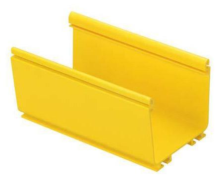 Основание короба Panduit FR4X4YL2 FiberRunner 4x4 2м желтый