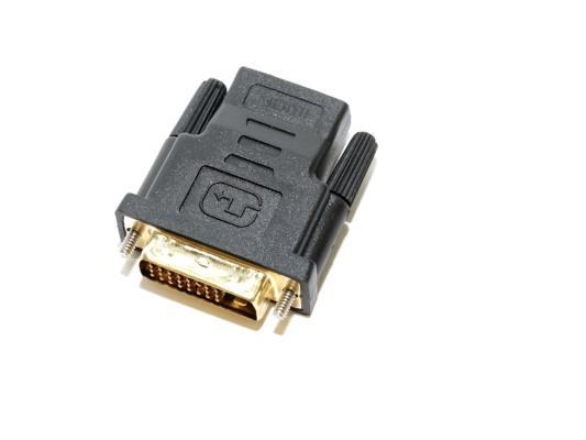 Переходник HDMI- DVI-D 5bites позолоченные контакты DH1803G