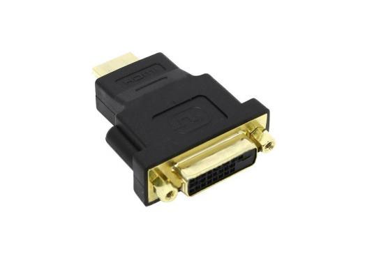 Переходник HDMI- DVI-D 5bites позолоченные контакты DH1807G переходник ningbo hdmi m dvi d f позолоченные контакты черный cab nin hdmi m dvi d f