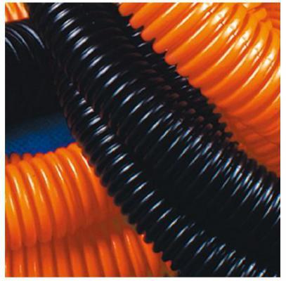 Труба гофрированная DKC 25мм2 50м оранжевый 71525
