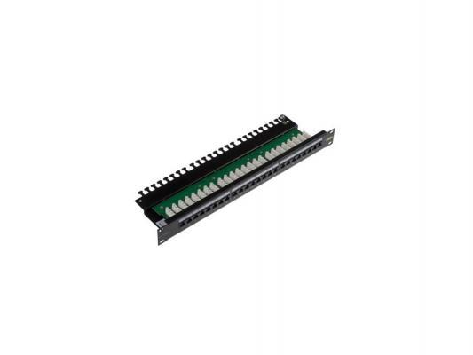 "Патч-панель Brand-Rex C6CPNLU24012M 19"" 1U 24xRJ45 кат.6 UTP"