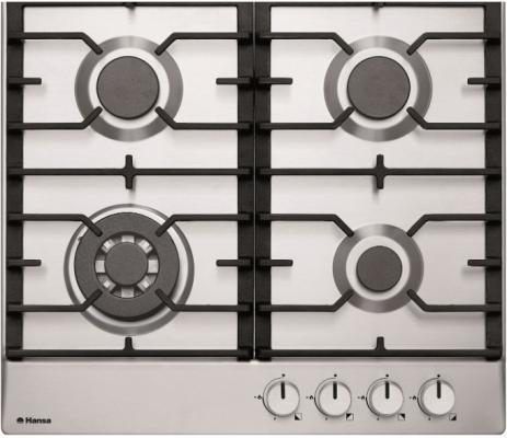 Варочная панель газовая Hansa BHGI63130 серебристый