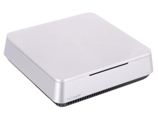 Неттоп Asus VivoPC VM42-S031M SL 2957U 1.4GHz 4Gb 500Gb Wi-Fi BT DOS серебристый 90MS00B1-M00310