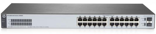 Коммутатор HP 1820-24G управляемый 24 порта 10/100/1000Mbps 2xSFP J9980A коммутатор hp 1420 24g 2sfp