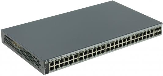 Коммутатор HP 1820-48G управляемый 48 портов 10/100/1000Mbps 4xSFP J9981A коммутатор hp 1850 управляемый 48 портов 10 100 1000mbps jl171a
