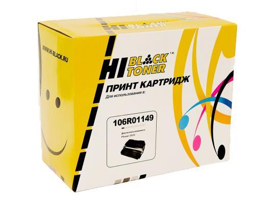 Картридж Hi-Black 106R01149 для Xerox Phaser 3500 черный 12000стр картридж xerox black phaser 3500 106r01149