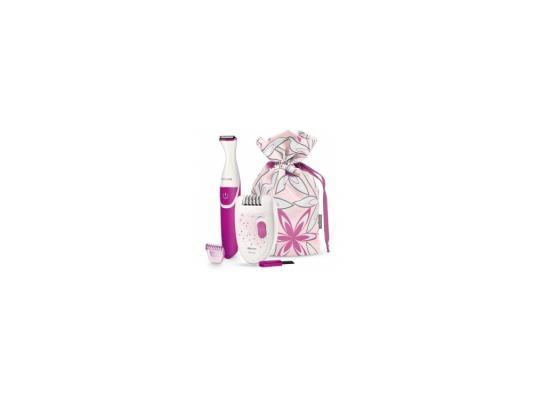 Эпилятор Philips HP6548/00 бело-розовый эпилятор philips hp6548 satinelle