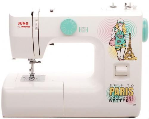 Швейная машина Janome Juno 517 белый