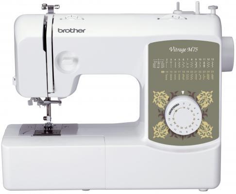 Швейная машина Brother Vitrage M75 белый