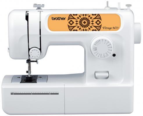 все цены на Швейная машина Brother Vitrage M73 белый