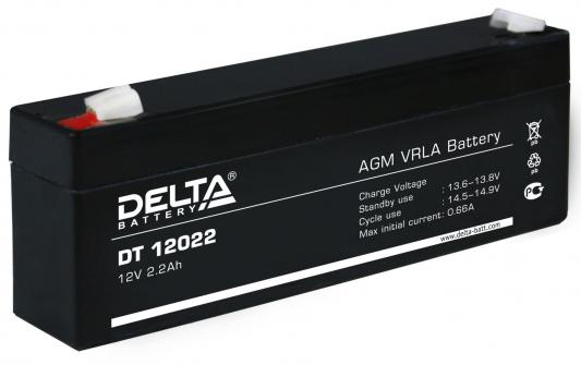 Батарея Delta DT 12022 2.2Ач 12B delta