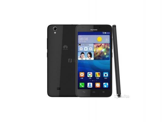 "Смартфон Huawei Ascend G620S черный 5"" 8 Гб NFC LTE Wi-Fi GPS 3G"