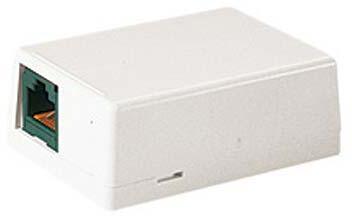 Розетка Panduit CBXJ2AW-A настенная 2 модуля белый