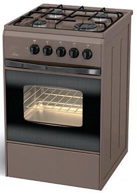 Газовая плита Flama FG 2402 B коричневый