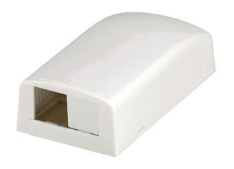 Розетка Panduit CBX2AW-AY настенная 2 модуля белый  CBX2AW-AY