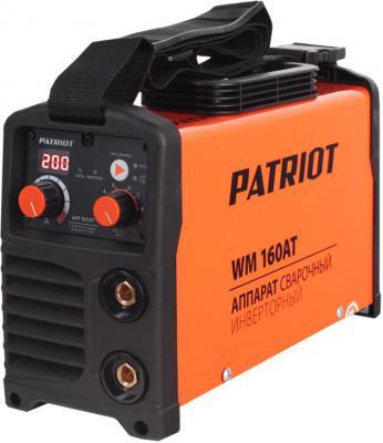 Аппарат сварочный Patriot WM 160AT 10/160A инверторный