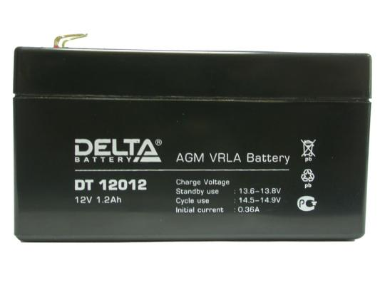 Батарея Delta DT 12012 1.2Ач 12B new original dvp48eh00r3 delta plc eh3 series 100 240vac 24di 16do relay output
