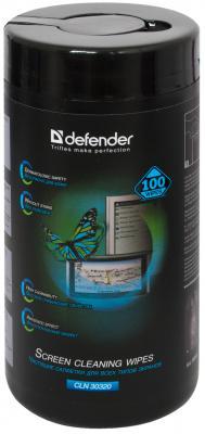 Влажные салфетки DEFENDER Eco CLN 30320 100 шт