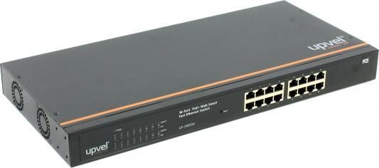 Коммутатор Upvel UP-316FEW управляемый 16 портов 10/100Mbps PoE+ RM коммутатор zyxel gs1100 16 gs1100 16 eu0101f