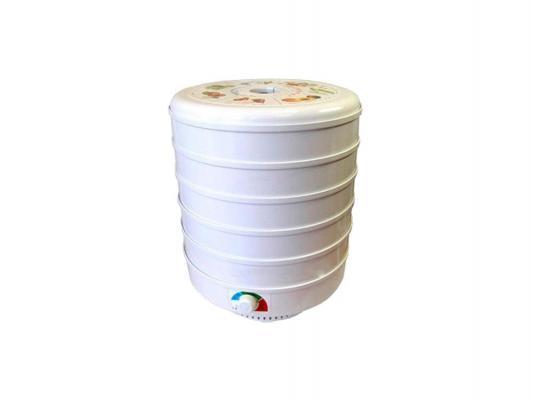 Сушилка для овощей и фруктов Великие реки Ветерок-5 500 Вт белый вафельница великие реки кубань 6