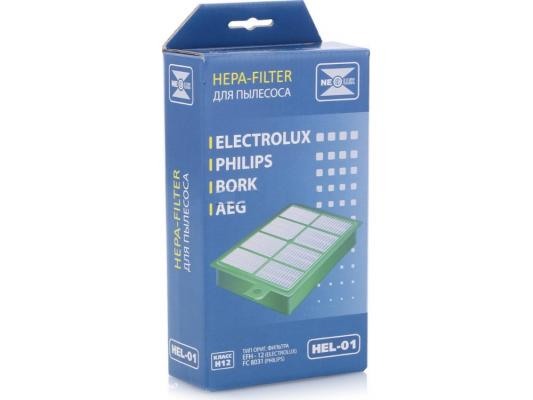 Фильтр для пылесоса NeoLux HEL-01 для Electrolux/Philips фильтр для пылесоса neolux hbs 05