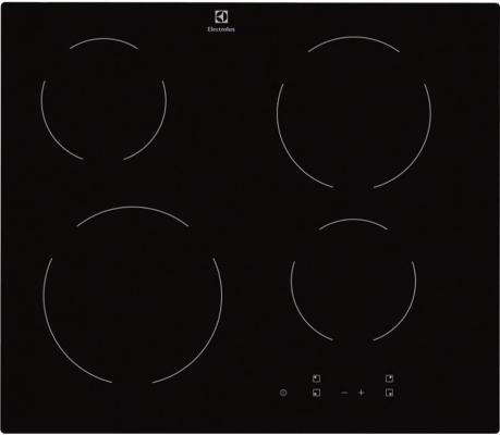 Варочная панель электрическая Electrolux EHV56240AK черный варочная панель electrolux ehv56240ak hi light независимая черный