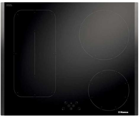 Варочная панель электрическая Hansa BHI68608 черный варочная панель электрическая hansa bhiw 68303 белый