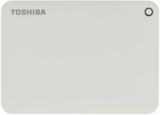"Внешний жесткий диск 2.5"" USB3.0 2Tb Toshiba Canvio Connect II HDTC820EW3CA белый"