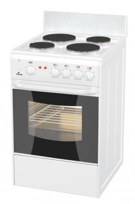 Электрическая плита Flama AE 1402 W белый комплекты детской одежды клякса комплект 5 предметов 53 5228