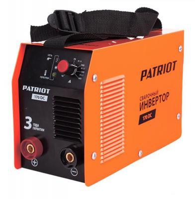 Аппарат сварочный Patriot 170DC MMA 10/160A инверторный