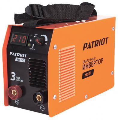 цена на Аппарат сварочный Patriot 230DC MMA 10/200A инверторный