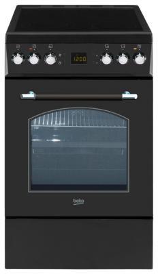 Электрическая плита Beko CSE 57300 GAR черный