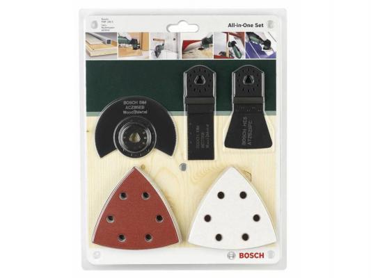 Набор пильных полотен для мультитулов Bosch 2609256977 для PMF набор пильных полотен bosch t123 x hss