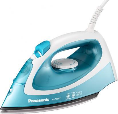 Утюг Panasonic NI-P300TATW 1780Вт бело-голубой утюг panasonic ni p300 tatw