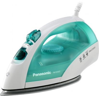 Утюг Panasonic NI-E410TMTW 2150Вт бело-голубой