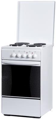 Электрическая плита Flama AE 1401 W белый электрическая плита flama ae 1401 w эмаль белый