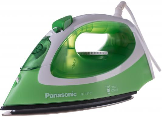 Утюг Panasonic NI-P210TGTW 1550Вт бело-зеленый утюг panasonic ni p210tgtw 1550вт титан