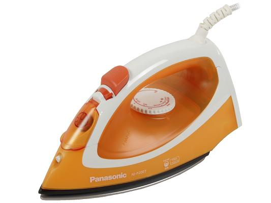 Утюг Panasonic NI-P200TTTW 1550Вт бело-оранжевый утюг panasonic ni p210tgtw 1550вт зеленый белый