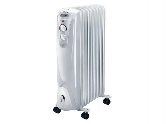 Масляный радиатор Marta MT-2428 11 секций 2300Вт серый радиатор marta mt 2420