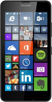 "Смартфон Microsoft Lumia 640 Dual Sim черный 5"" 8 Гб GPS Wi-Fi"