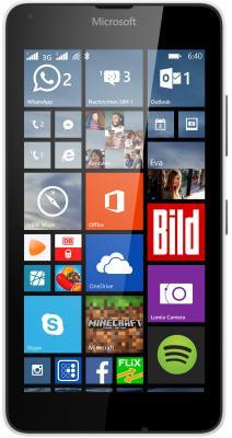 "Смартфон Microsoft Lumia 640 Dual Sim белый 5"" 8 Гб GPS Wi-Fi"