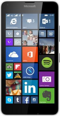 "Смартфон Microsoft Lumia 640 LTE Dual Sim белый 5"" 8 Гб LTE A00024772"