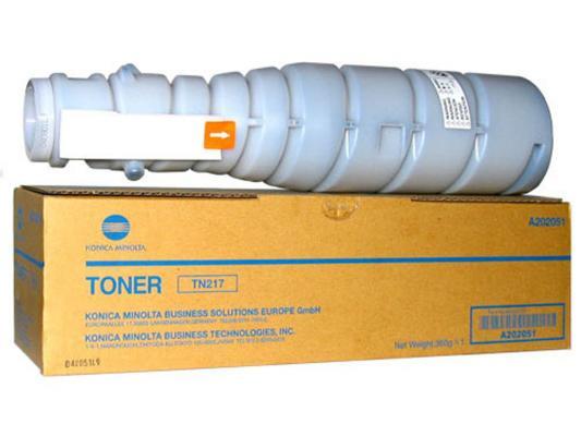 Картридж Konica Minolta TN-217 для bizhub 223/283 черный 17500стр copier sensor cassatte for minolta bh 283 high quality photocopy machine copier parts bh283