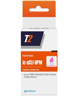 Картридж T2 IC-CCLI-8PM для Canon PIXMA iP6600D пурпурный 360стр картридж t2 ic ccli 8pc для canon pixma ip6600d 6700d pro9000 голубой 360стр