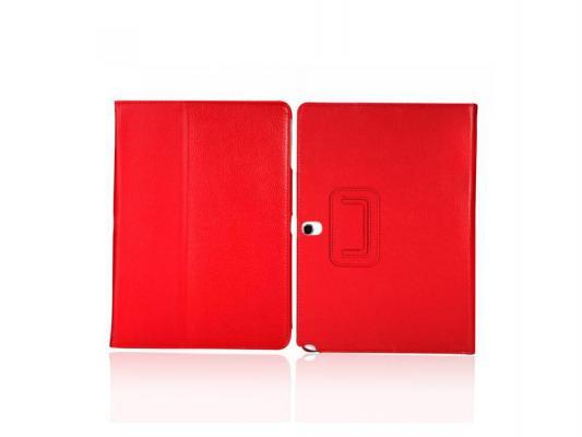 Чехол IT BAGGAGE для планшета Samsung Galaxy Tab4 10.1 искусственная кожа красный ITSSGT1042-3 чехол it baggage для планшета samsung galaxy tab4 10 1 hard case искус кожа бирюзовый с тонированной задней стенкой itssgt4101 6