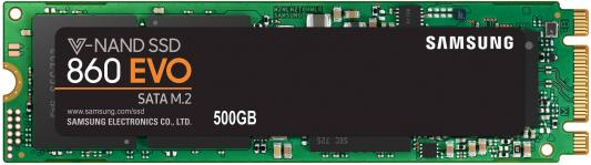 Твердотельный накопитель SSD M.2 500Gb Samsung 850 EVO Read 540Mb/s Write 500Mb/s SATA III MZ-N5E500BW