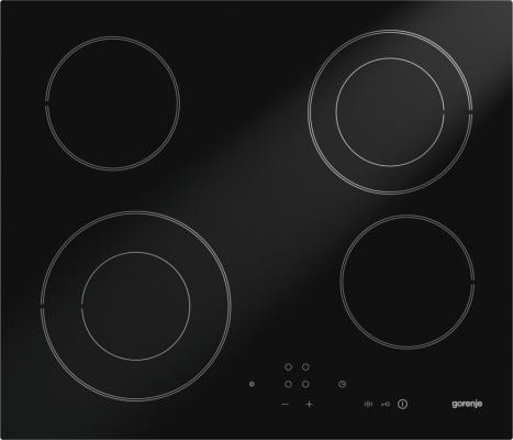 Варочная панель электрическая Gorenje ECT640SC черный